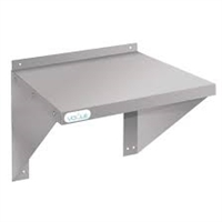 CB912 - Vogue Microwave Wall Shelf St/St - 560x560x490mm