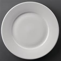 CC209 - Athena Hotelware Wide Rimmed Plates 254mm (Pack of 12)