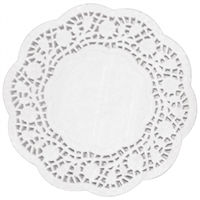 "CE992 - Fiesta Paper Doily Round - 240mm 9 1/2"" dia (Pack 250)"