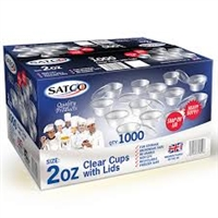 Satco Microwave Container with Lids x 1000