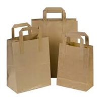 Handle Kraft Bags (Pack 250)