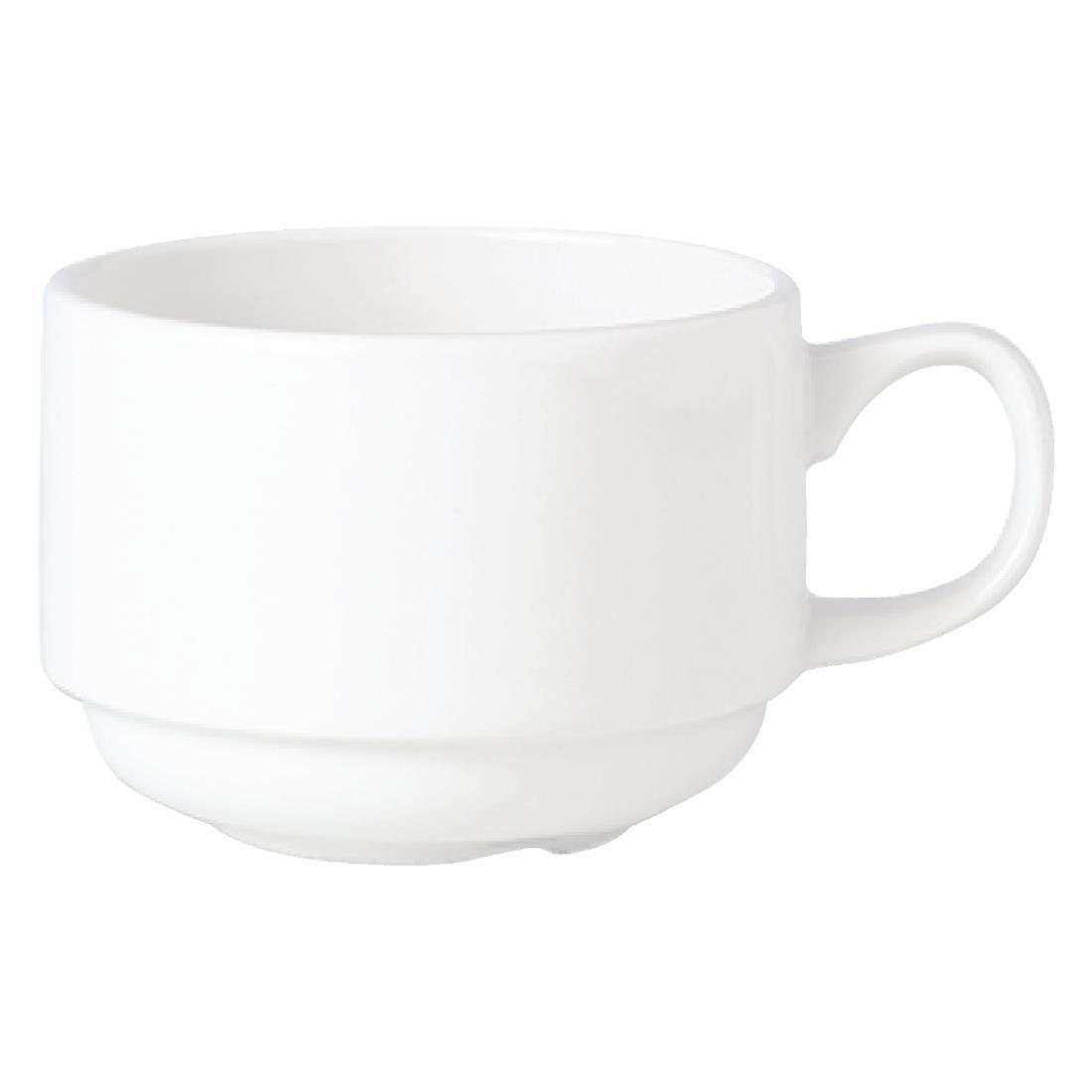 V0101 - Steelite Simplicity White Stacking Slimline Cup