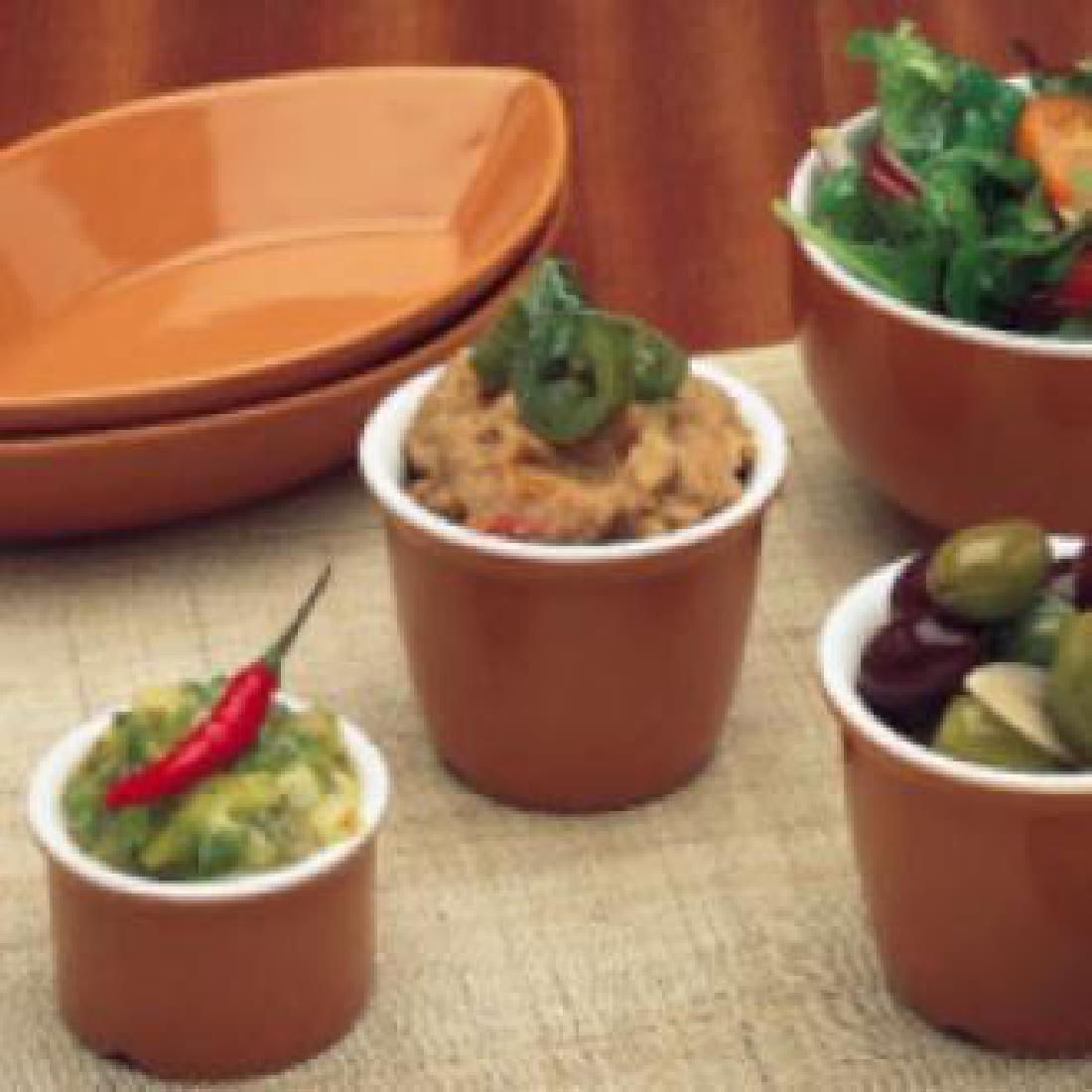 W015 - Terracotta Relish Pot
