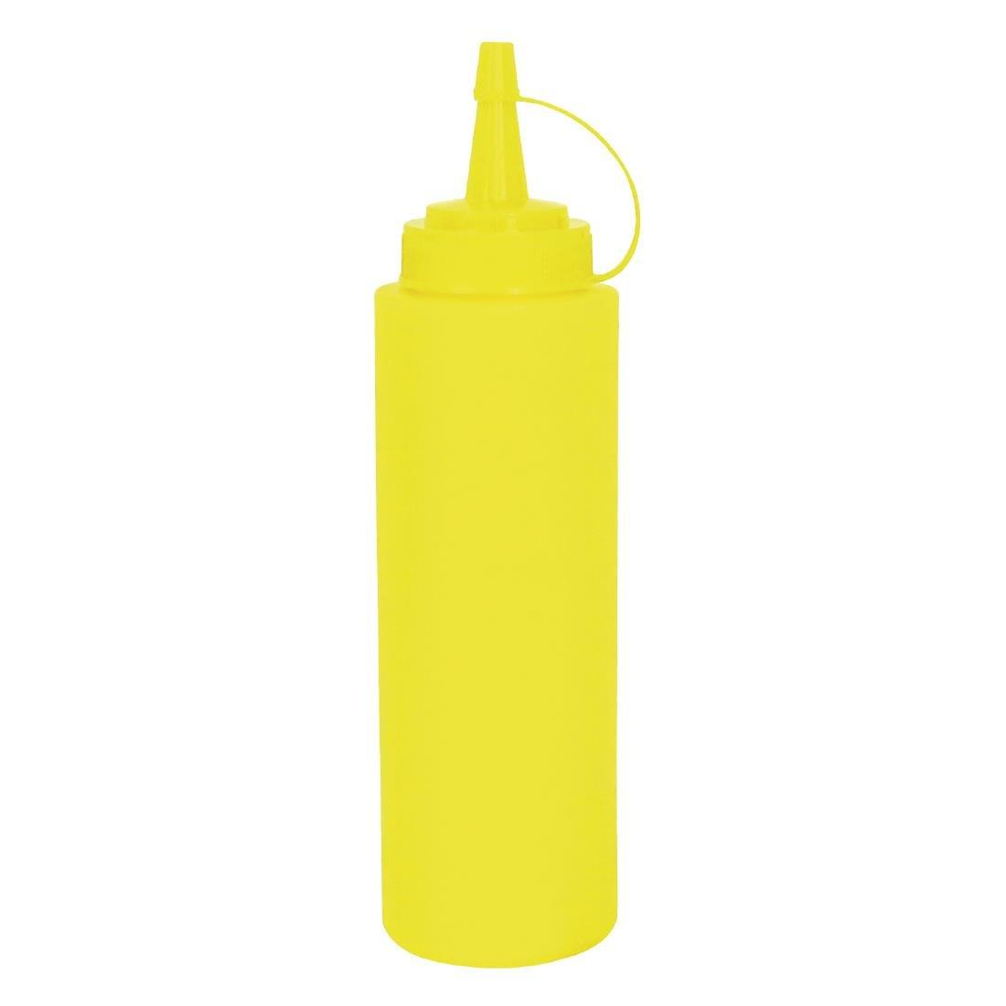 W834 - Yellow Squeeze Sauce Bottle