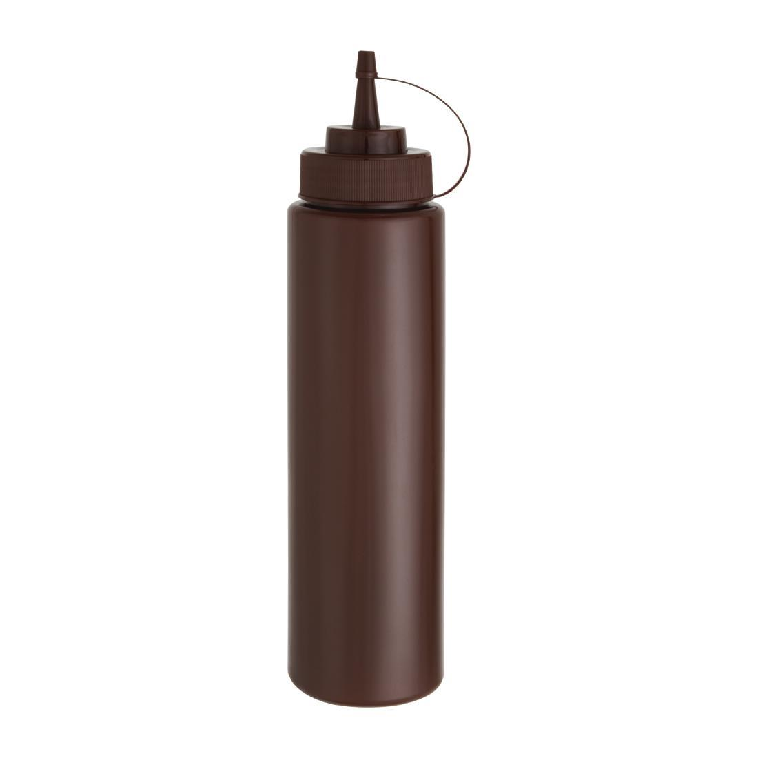 W835 - Brown Squeeze Sauce Bottle
