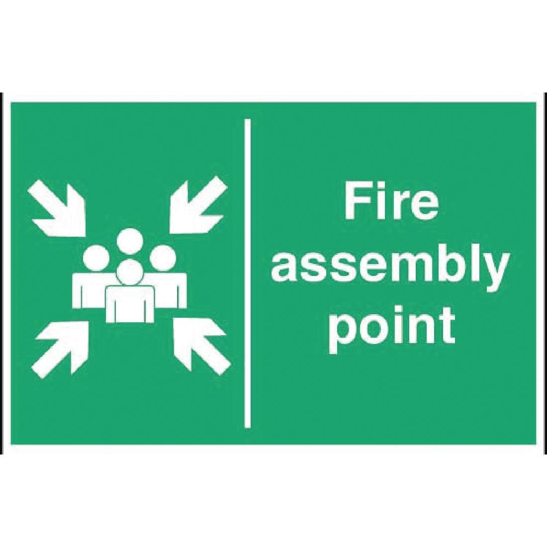 Y921 - Fire Assembly Point Sign
